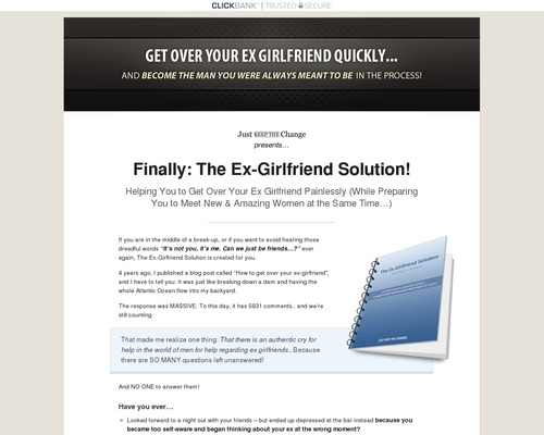 The Ex-girlfriend Solution | Just Keep The Change