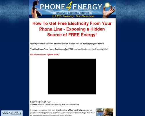 Energy ~ Phone 4 Energy ~ Avg 1:13 – 1:25 Conversions