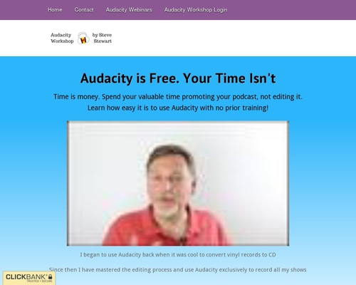 Audacity Workshop – Cut Your Editing In Half