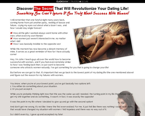 Rules Of The Alpha Male – Attract Women Naturally