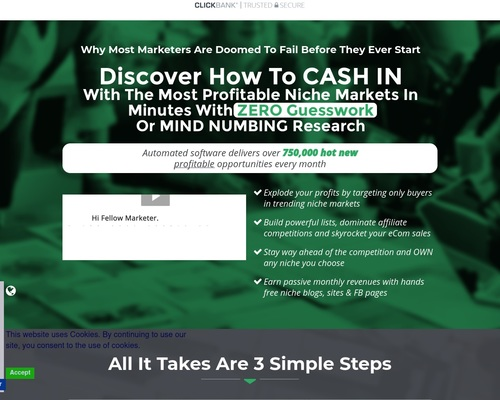 Niche Reaper – Keyword Research Done For You