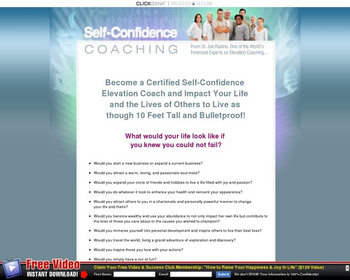 Certified Selfconfidence Coach