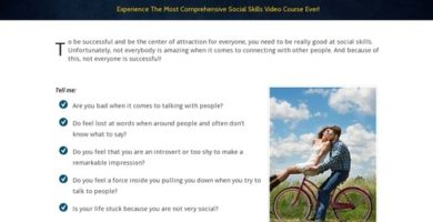 New)) New Social Skills – Video Course – Launched In 2019!