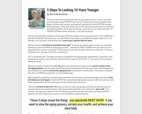 Old School New Body – Highest Converting Written Page On CB Market