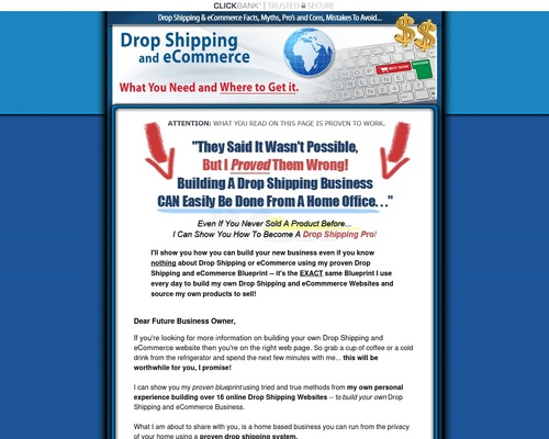 Drop Shipping And Ecommerce Blueprint Pros Cons And Myths