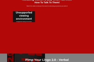 Pimp Your Lingo 2.0 – The Art Of Verbal Foreplay